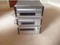 Yamaha Natural Sound Compact Stereo Hi Fi model no CDX-E100 Kx-E100 & RX-E100