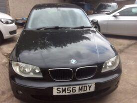 56 PLATE BMW 1 SERIES 2L DIESEL, 5 DOOR