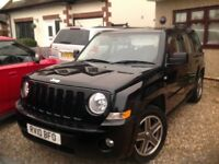 Jeep Patriot. Vgc. Very safe and sturdy, plenty of room.