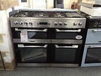 Leisure cuisine master 110cm dual fuel range new graded 12 mth gtee
