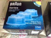 Braun cleaning cartridges