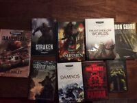 Warhammer Science Fiction books