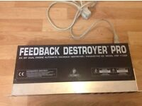 Effects rack behringer feedback destroyer pro