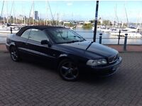 Volvo C70 cabriolet 2.0 dual fuel with 109000 miles and an mot until the 21st of July 2017
