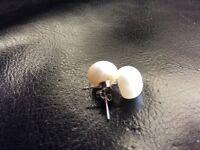 Small fresh water pearl earings