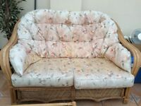 3piece Cane Wicker Furniture