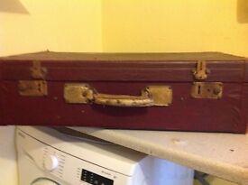 Old suit case
