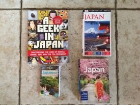 4 Japanese travel books