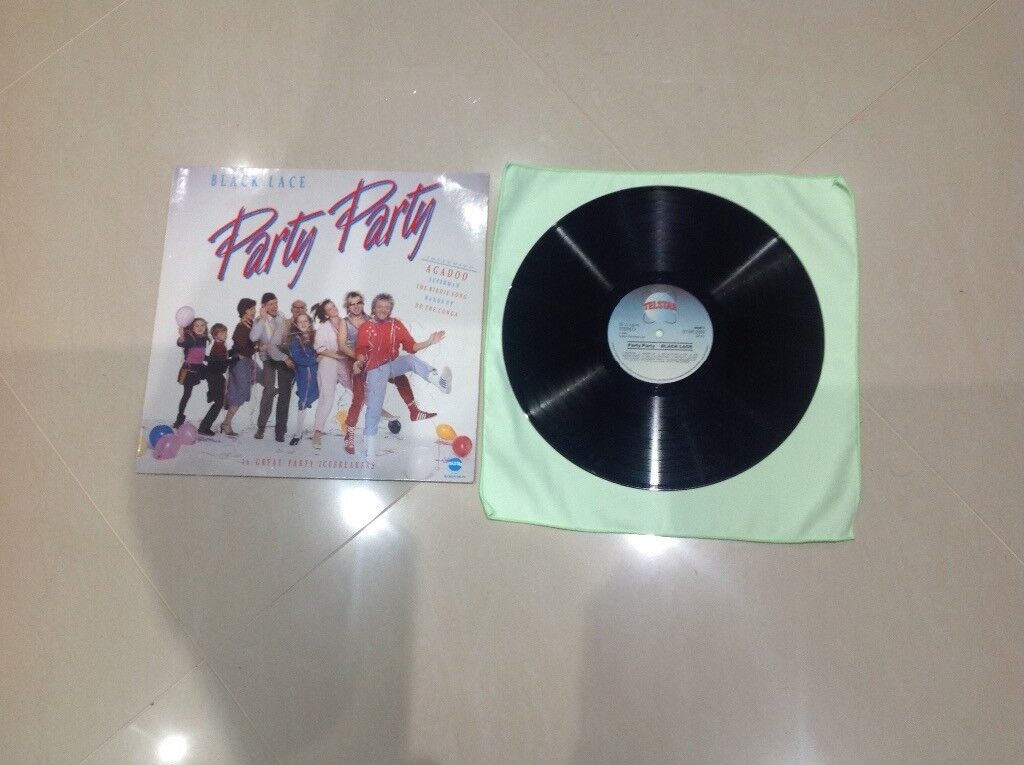 Black Lace Party Party Vinyl LP 1984 Hits
