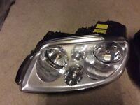 VW Touran Pair of New Head Lights