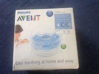 Avent microwave steam steriliser