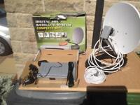 Digital mini satellite-system