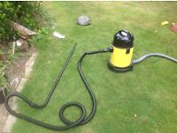 A brand new automatic pond vacuum cleaner