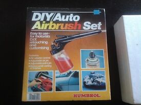 Modeller's Air Brush Set (unused) BANK Holiday Special