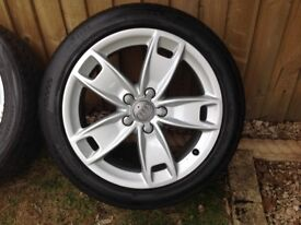 Audi A3 17 inch alloys and tyres