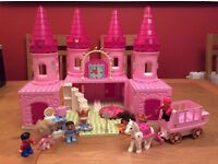 Lego Duplo Princess Castle, Carriage and Figures