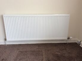 Stelrad K2 compact double central heating radiator 600 x 1400