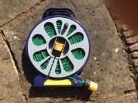 New garden hose with connectors
