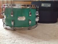 "BARGAIN - No Doubt! Orange County Percussion Snare Drum 12""x7 with FREE Protection Racket Soft Case"