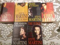 Steve Martini - 6 x paper backs