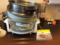 Halogen oven with all accessories