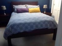 Mango Wood Double Bed frame (Debenhams)