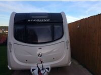 2011 Fixed bed ,End bathroom Sterling Eccles Ruby SR 4 berth