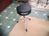 DRUM HARDWARE Hi - Hat and Bass Pedals PLUS Snare Stand PLUS Drum Stool PLUS Silencer Pads VGC