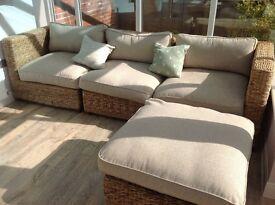 M&S conservatory sofa