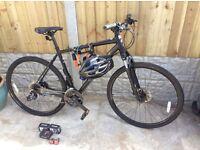 Specialized Crosstrail SportsDisc xl Hybrid bike with accessories