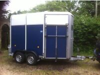 Ifor Williams Horse trailer, lightly used and in excellent condition. Aluminium floor.