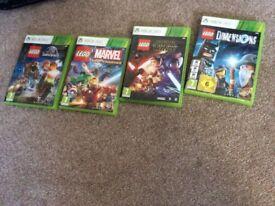 Xbox 360 games Lego etc