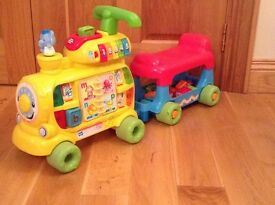 VTech alphabet train excellent condition from smoke free & pet free home