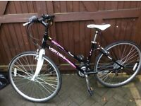 """Ladies or girls bike in excellent condition like new lightweight 18 gears aluminium frame 18"""""""