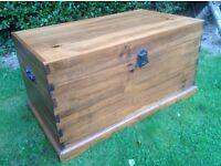 Wooden Chest / Blanket Box