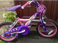Girls Disney Princess bike 5-8 years