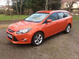 Ford Focus 1.6 Zetec Estate 125 Petrol