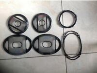Alpine car speaker covers