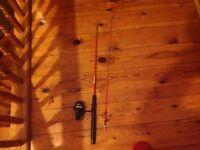 Shakespeare fishing rod