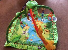 Baby's play mat