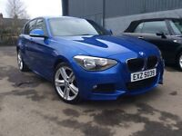 2013 BMW 1 Series 120D M-Sport X-Drive 185bhp Stunning Car! Finance Available