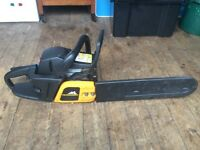 Mcculloch 16 inch chainsaw ready to work