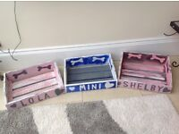 Dogs customised wooden beds