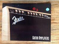 Fender Guitar Amplifiers 1993 Kiel - Hassee-Vieburg Vorschau