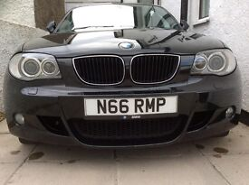 BMW M SPORT 120D BLACK