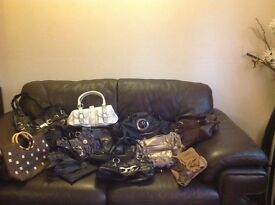 Handbags for sale 14 in total all in good condition