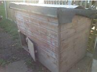 Chicken hut or kennel