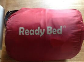 ReadyBed (sleeping bag and blow up bed)