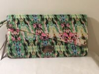 Red Herring Floral Clutch Bag NWT RRP £20