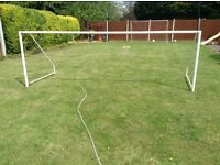 Metal goal post 12ft by 4ft
